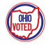 "Ohio ""I Voted"" Sticker"