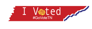 "Tennessee ""I Voted"" Sticker"