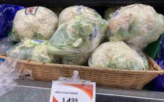 heads of cauliflower, a healthy thanksgiving alternative