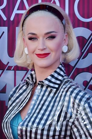 headshot of katy perry in 2019