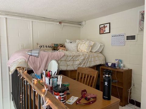 photo of a fordham dorm room for an article about missing items