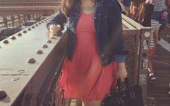 Loreen Ruiz on the Brooklyn Bridge