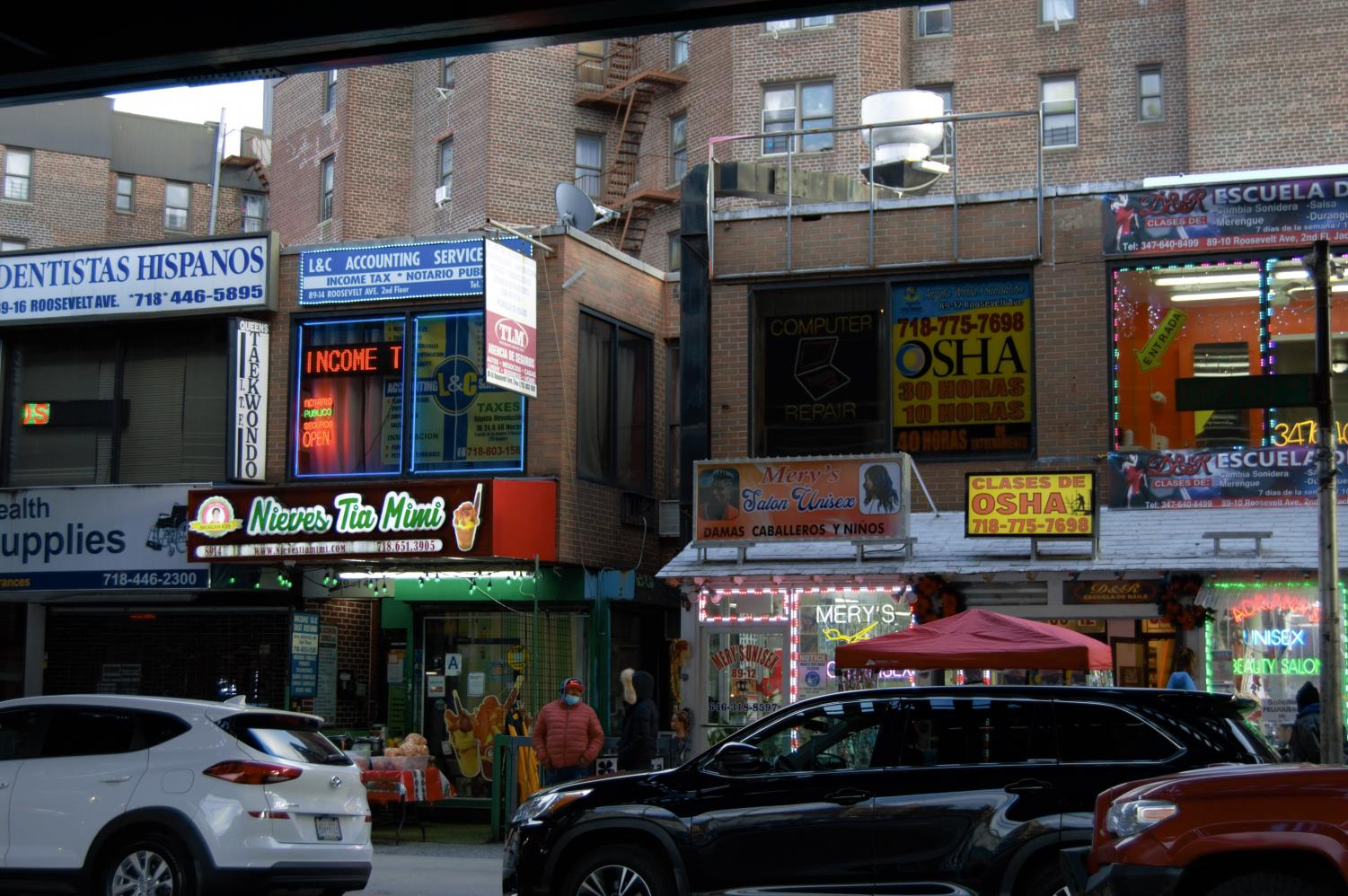 storefronts in jackson heights