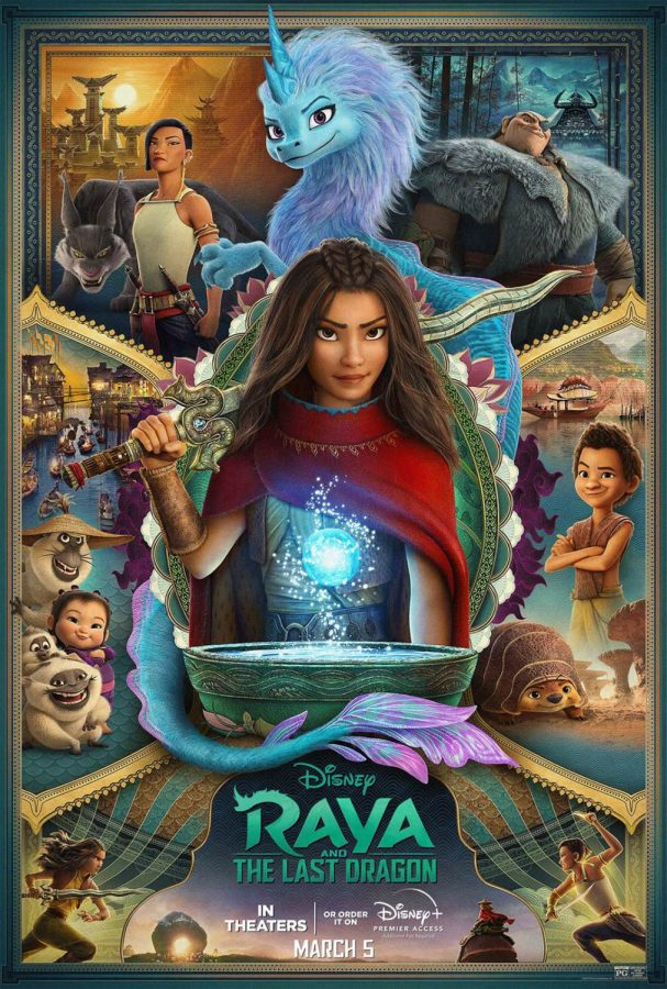a poster for Raya and the Last Dragon