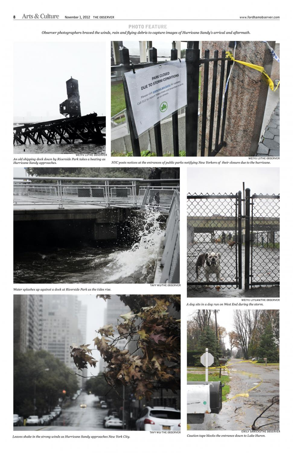 a photo essay from Hurricane Sandy