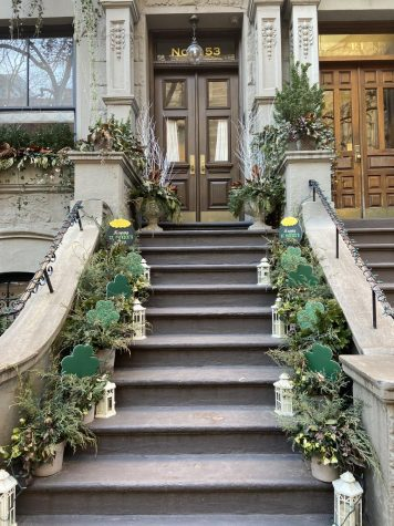 A stoop on the upper west side