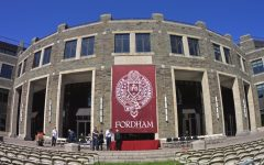 photo of in-person commencement at rose hill