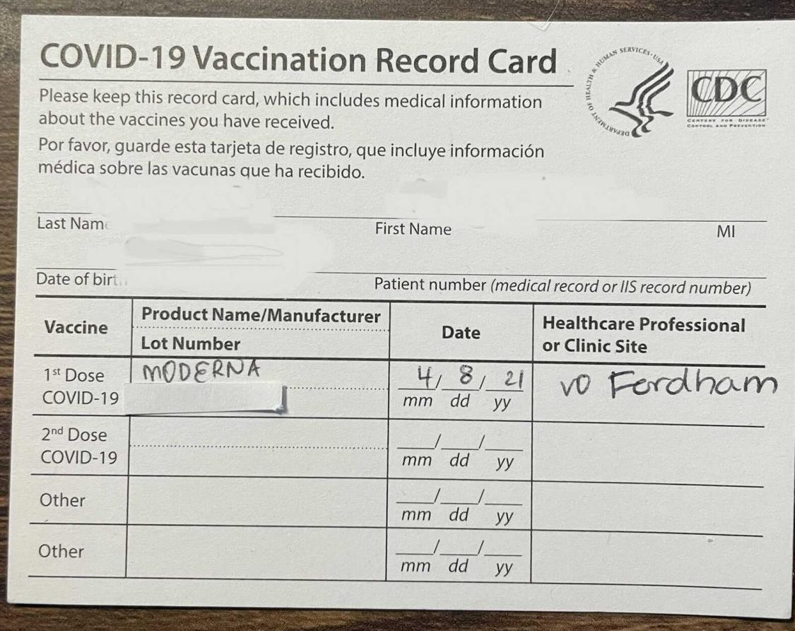 Fordham+Distributes+Its+First+Vaccines