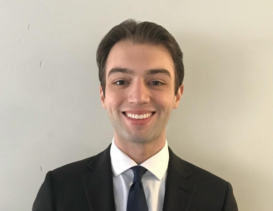 USG presidential Candidate Joe VanGostein