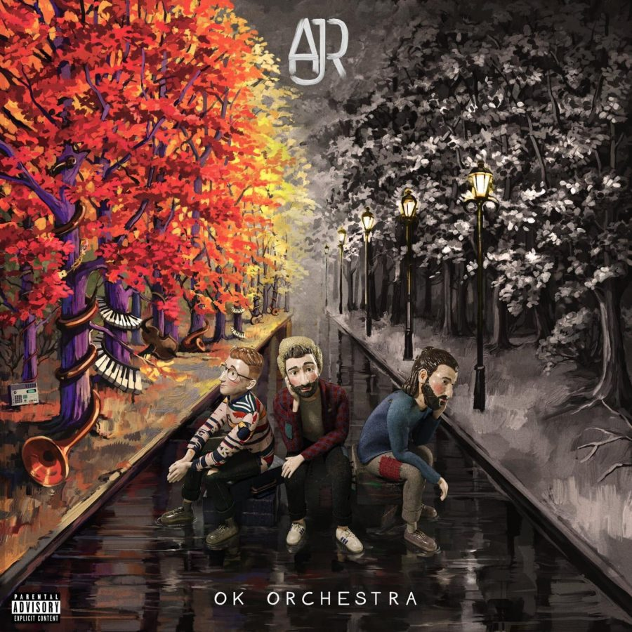 cover of OK Orchestra, AJR