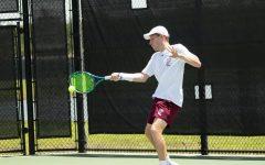 Max Green plays Richmond in tennis