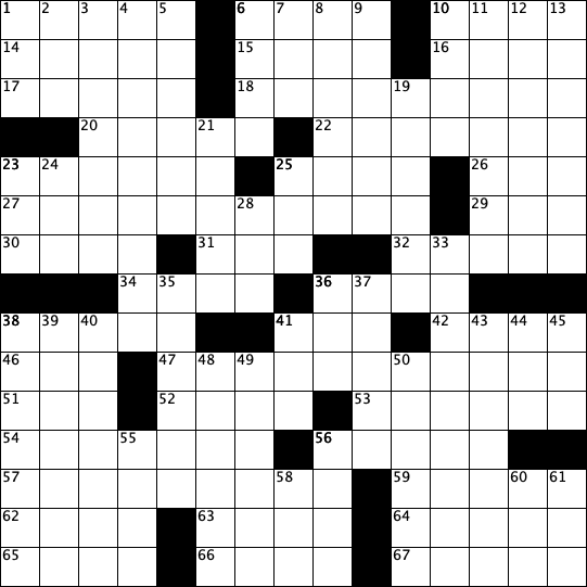 crossword grid issue 6