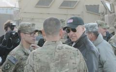 Biden in Afghanistan speaks with troops