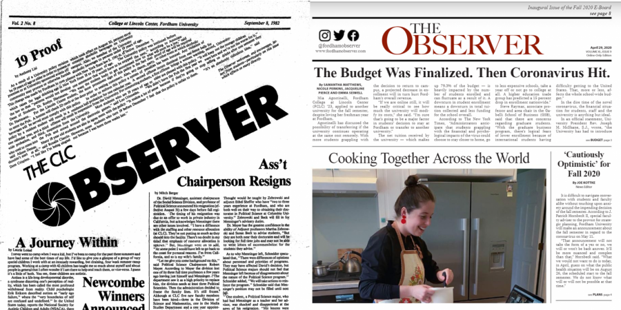 observer editors' front pages