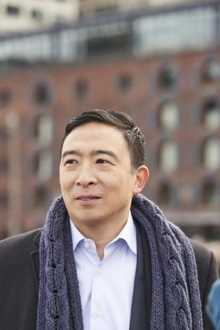 Andrew Yang, one of the candidates for NYC mayor