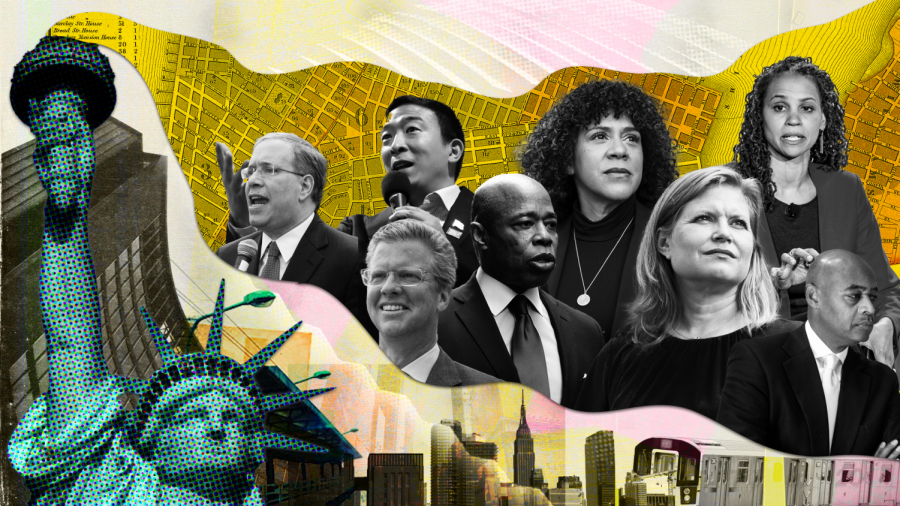 the candidates for the primary of the NYC mayoral race