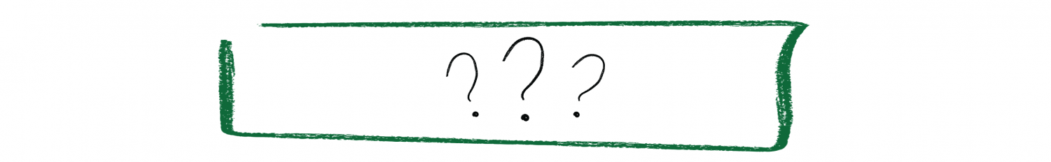 question mark graphic to signify knowing nothing about nightlife and bars