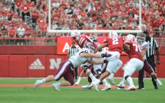 Fordham vs. University of Nebraska, a tackle