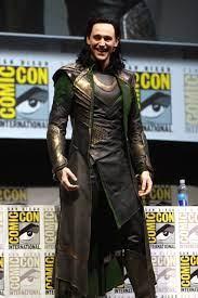 superhero loki at ComicCon