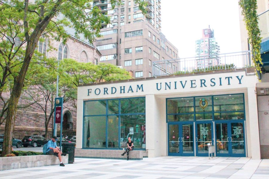 for+an+article+about+free+speech+rights+on+campus%2C+the+front+entrance+of+fordham+lincoln+center