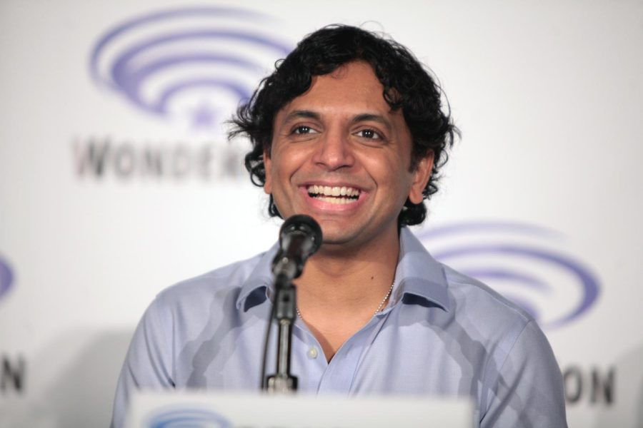 m+night+shyamalan+creator+of+old+at+a+conference