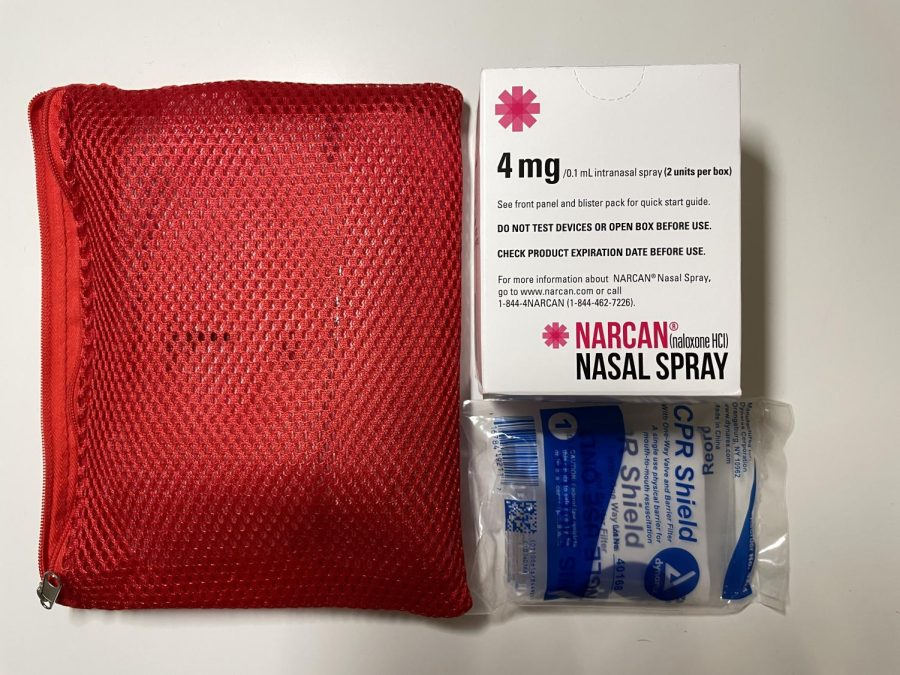 a naloxone nasal spray can, a tool to fight opioid overdoses